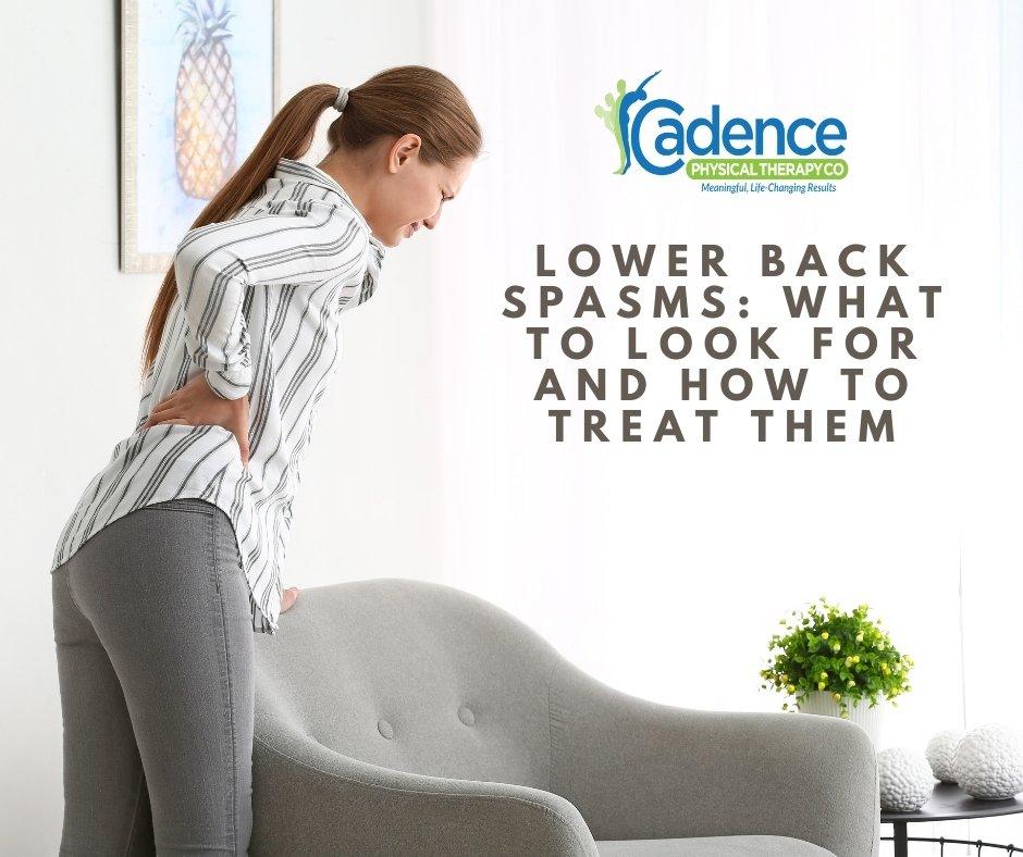 Lower Back Spasm